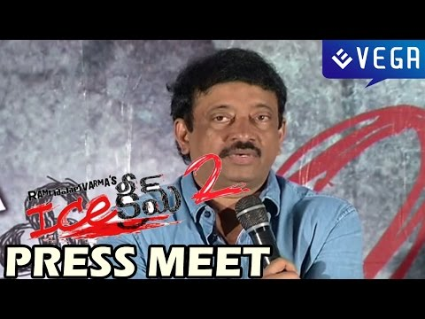 Ice Cream 2 Press Meet - RGV, J.D Chakravarthy, Naveena