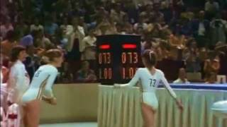 Nadia Comaneci reflects on the first perfect 10 received at the Olympic Games in 1976 during the team competition. Although she...