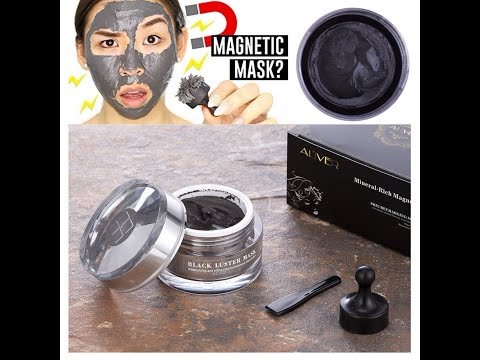 New Magnetic Face Peel off Mask Mineral Rich magnetic Black mask Mud mask