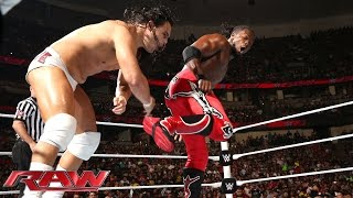 Kofi Kingston vs. Bo Dallas: Raw, Aug. 25, 2014