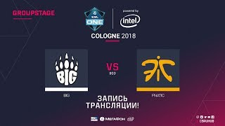 BIG vs fnatic - ESL One Cologne 2018 - map1 - de_cache [Anishared, SSW]