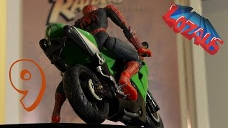 Video SPIDERMAN STOP MOTION Action Video Part 9 MP3, 3GP, MP4, WEBM, AVI, FLV Juni 2018