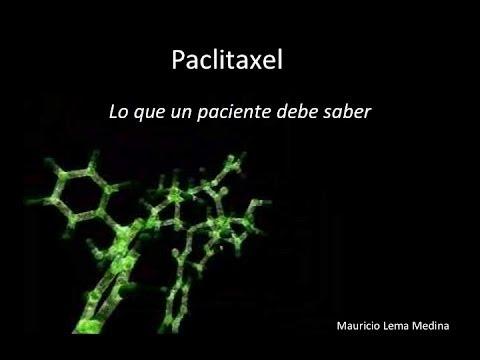 Paclitaxel (información para pacientes)