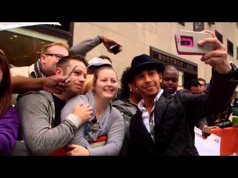 lewis - Go behind the scenes with Lewis Hamilton during his appearance on NBC's Today Show on Wednesday October 29th, 2014. For more follow us on Twitter @F1onNBCSports.