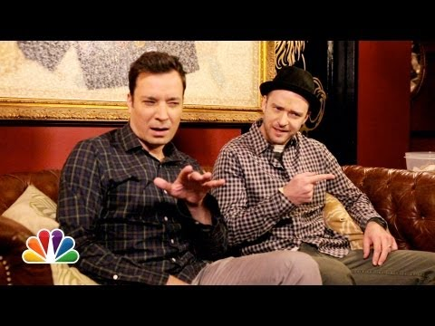 Late Night with Jimmy Fallon - Jimmy Fallon & Justin Timberlake show you what a Twitter conversation sounds like in real life. Subscribe NOW to Late Night with Jimmy Fallon: http://full.sc...