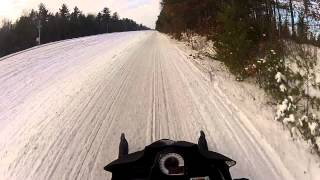 9. Arctic Cat F1000 Speed Run Minocqua