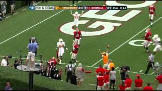 Tyler Bray vs Georgia (2012)