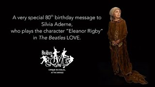 Happy Birthday to the LOVE Show's Eleanor Rigby