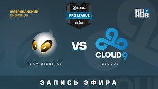 Team Dignitas vs Cloud9 - ESL Pro League S7 NA - de_mirage [GodMint]