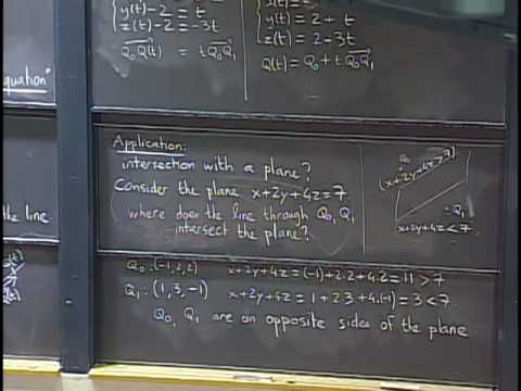Lec 5 | MIT 18.02 Multivariable Calculus, Fall 2007