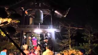 興禅寺2・除夜の鐘つき (梶原景時公顕彰会)