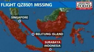 Air Asia Flight QZ8501 Crashes In Java Sea: Reports