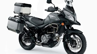 9. 2015 Suzuki V-Strom 650XT ABS, available in four colors: gray, white, blue, and red