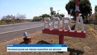 Borá ostenta o título de menor município do estado de SP