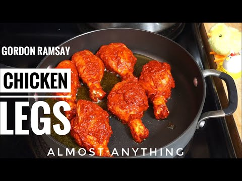 Chicken Legs , Lavender, Potato chips In French Style by Gordon Ramsay - Almost Anything