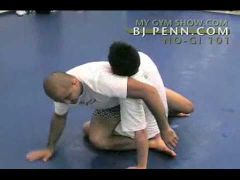BJ Penn shows how to Situp Sweep Kimura Sequence