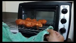 My first trial.. trial oven grilled tandoori chicken.