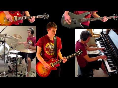 14 Years Guns N' Roses Guitar Bass Piano Drum Cover