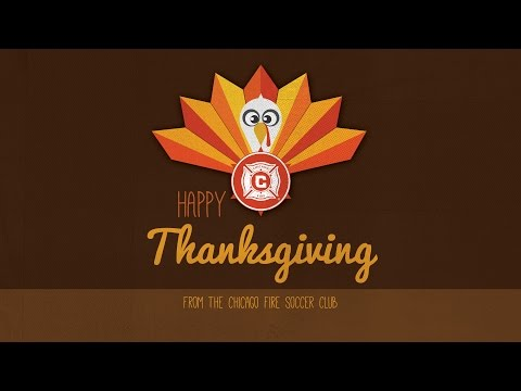 Video: Happy Thanksgiving from the Chicago Fire
