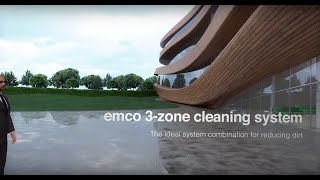 Emco 3-zone cleaning system