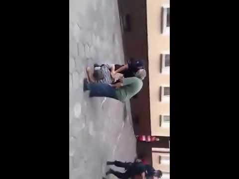 Policjant obezwładnia Sebixa szybkim strzałem gdzieś na jednym z polskich osiedli!