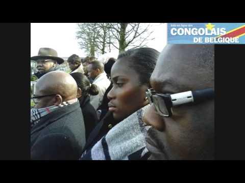 RENAIX  LES ADIEUX AU PROFESSEUR MUKADI BONYI
