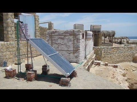 Solar Heaters in Egypt , Let's Use God's gift to Egypt