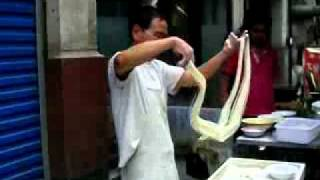 Yangquan China  City pictures : Noodle Maker Yangquan China