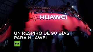 EE.UU. alivia las restricciones a Huawei (Temporalmente)