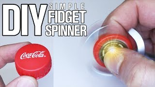 Video 3 Simple Parts DIY Fidget Spinner MP3, 3GP, MP4, WEBM, AVI, FLV Mei 2017