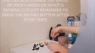 SIMPLE PLAY AND PAUSE STOP MOTION VIDEO TUTORIAL.