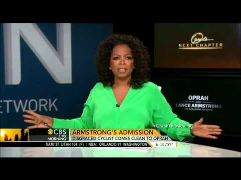 cbs - Oprah talks about her interview with Lance Armstrong on CBS This Morning Jan 15, 2013.
