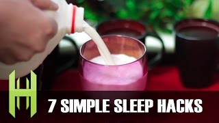 7 Simple Sleep Hacks!