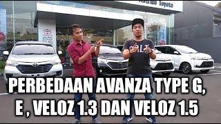 Download Video Perbedaan Avanza Type E, G, Veloz 1300cc dan Veloz 1500cc 2018 MP3 3GP MP4