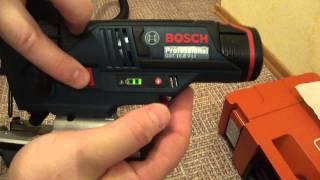 Bosch GST 10,8 V-Li jigsaw shows higher powercharge level, than the rest of 10,8 V-Li