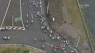 Huge Crash Takes Down Almost Entire Bike Race