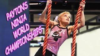Payton's Ninja World Championships!
