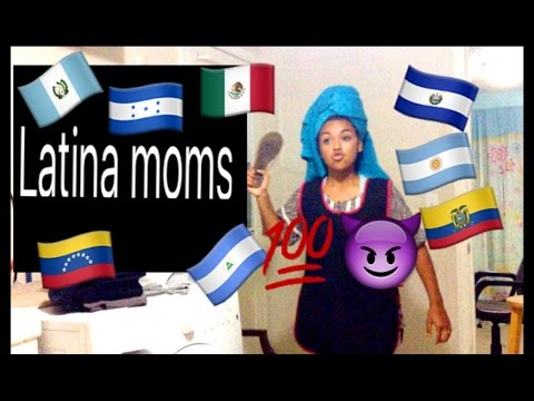 Hispanic Moms When They Get Mad