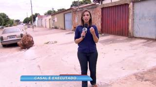Polícia civil investiga o duplo homicídio de casal de namorados no Jardim Monte Serrat, em Aparecida. O delegado do caso...