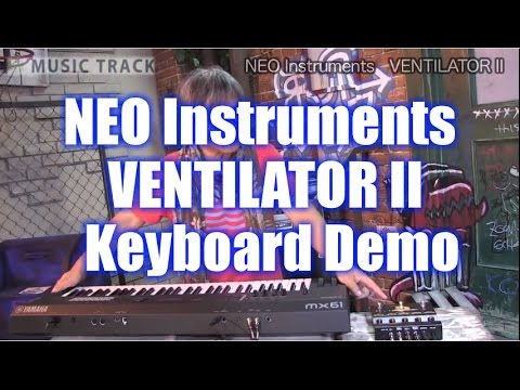 NEO Instruments VENTILATOR II Keyboard Demo&Review [English Captions]
