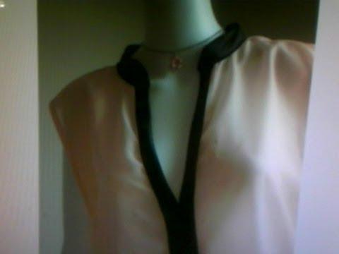 Blusa cuello V