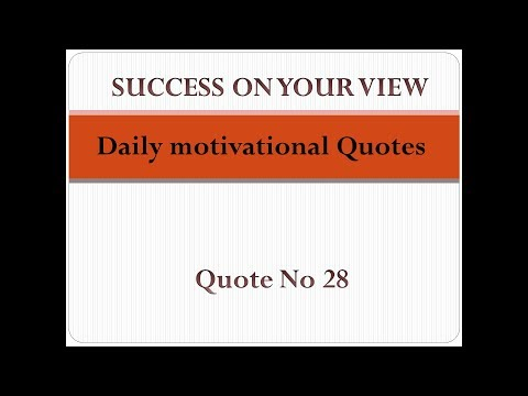 Encouraging quotes - Daily motivational Quotes  Quote no 28  Success on your View Motivational channel Success videos