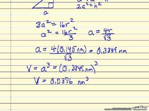 Berechnen der Metalldichte