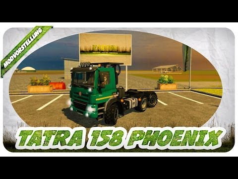 TATRA 158 Phoenix Agro Truck v1.1