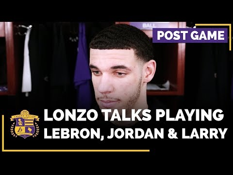 Video: Lonzo Ball Talks Guarding LeBron James, Playing Against Jordan Clarkson & Larry Nance Jr.