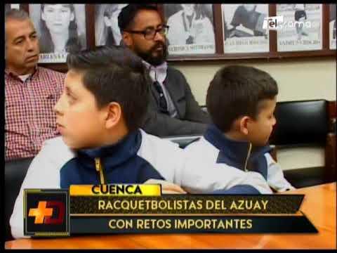 Racquetbolistas del Azuay con retos importantes