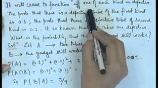 Mod-01 Lec-06 Problems In Proability