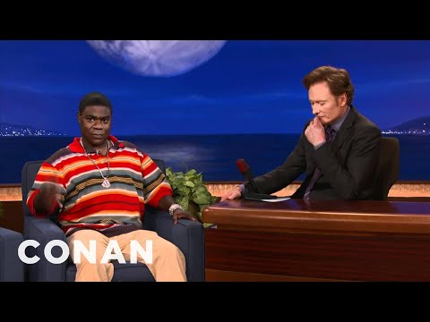 Tracy Morgan: Obama's A Gangbanger Who Needs A Tattoo - CONAN On TBS