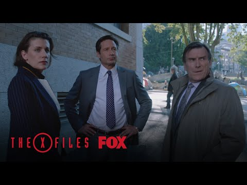 Mulder Attempts To Settle A Dispute | Season 10 Ep. 4 | THE X-FILES