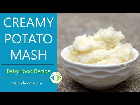 Mashed potato for babies hasanwap potato mash for babies weight gaining 8 months baby food recipe forumfinder Images